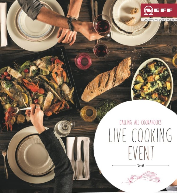 Neff Live Cooking Demonstration Event