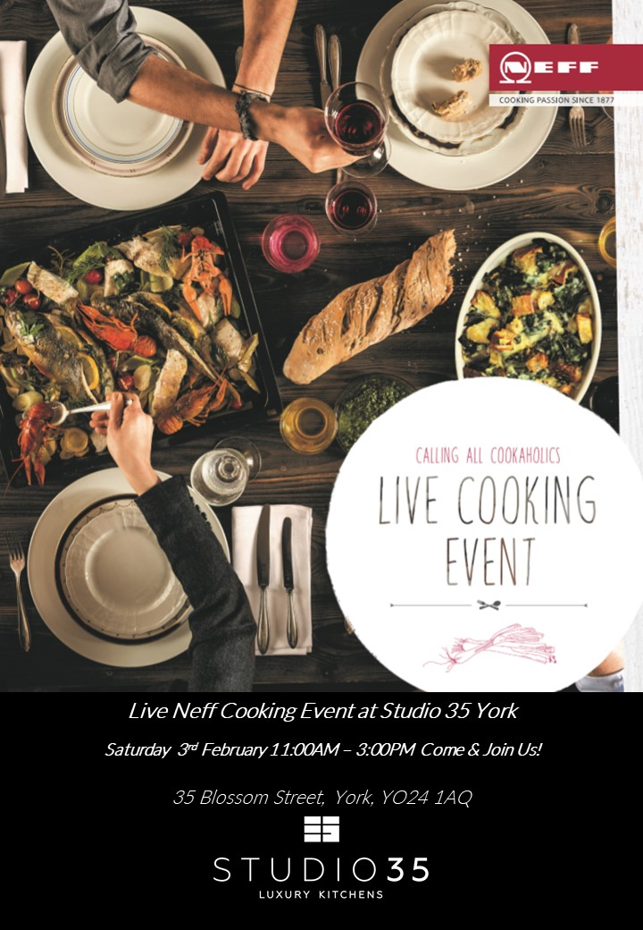 Cooking Demonstration Event