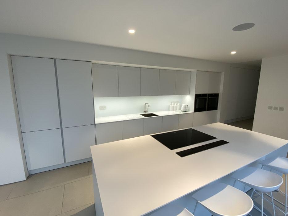 Pure White Kitchen