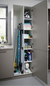 Nova Agate Grey Tall Storage Unit